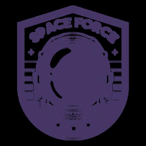 Insignia de astronauta de la fuerza espacial