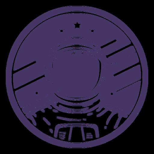 Ausschnittabzeichen des Weltraumastronauten