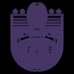 Insignia de viaje espacial de astronauta