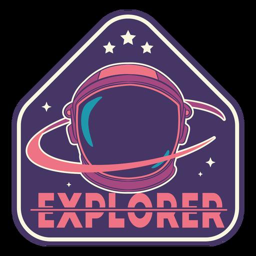 Explorer astronaut badge