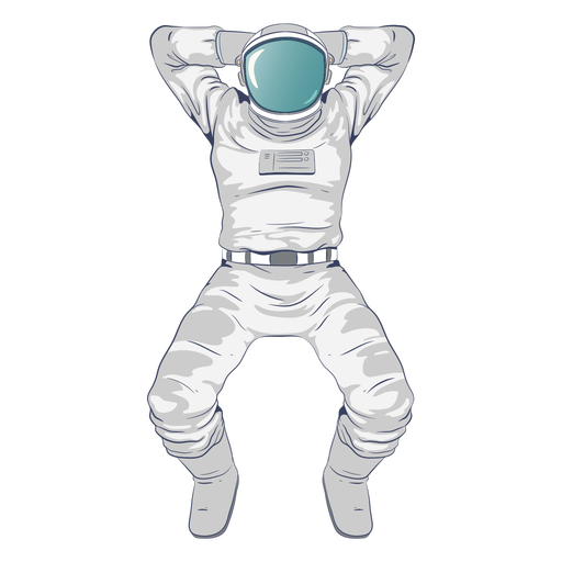Astronaut chilling character