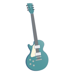 Blue accoustic guitar