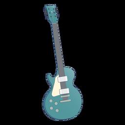 Blue accoustic guitar