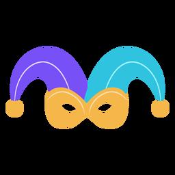 Jester carnival mask