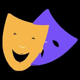 Carnival mood masks