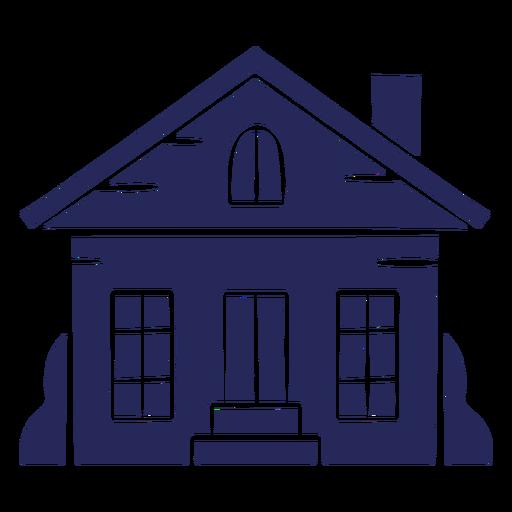 Suburban home cut-out