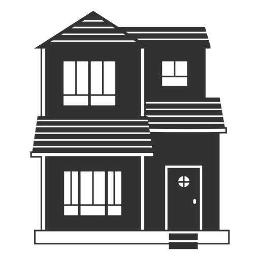 Simple small house icon