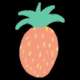 Doodle simple pineapple