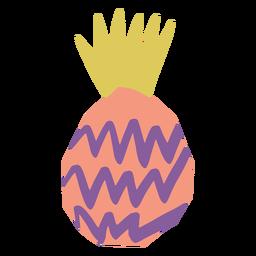 Pineapple icon doodle