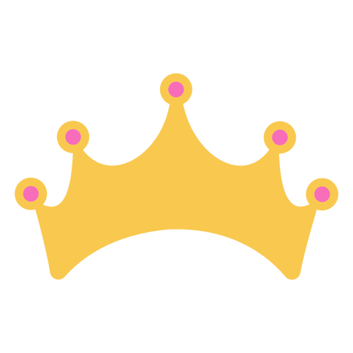 Simple golden crown with details