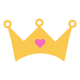 Crown heart diamond