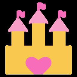 Puerta del corazón del castillo