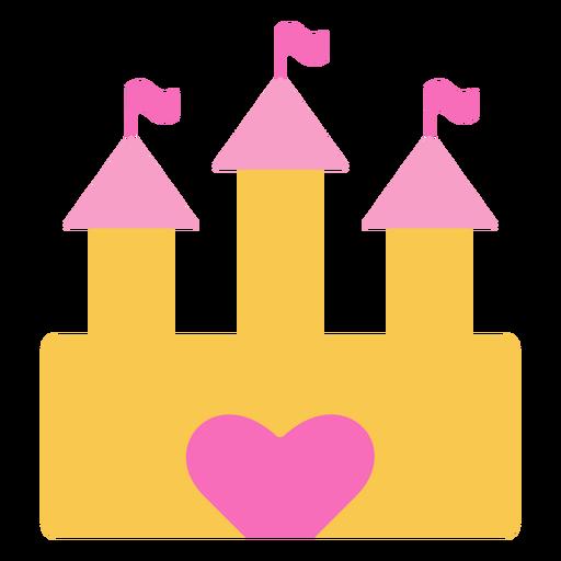 Castle heart door
