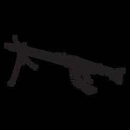 Rifle gun silhouette