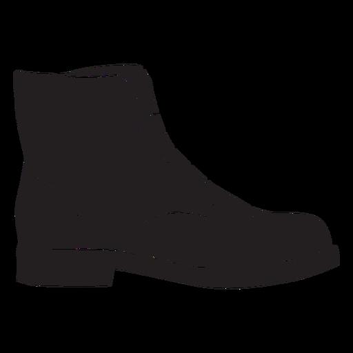 Profile boot silhouette