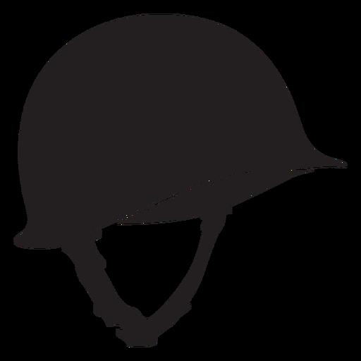 Soldier helmet silhouette