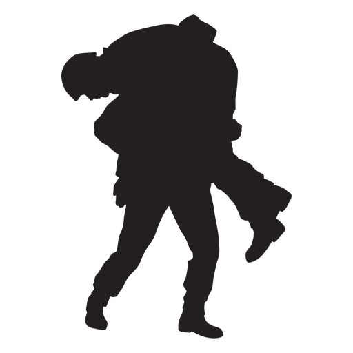 Soldiers army silhouette