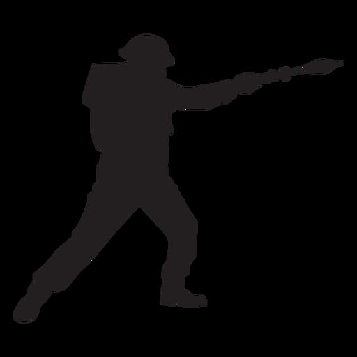 War soldier silhouette