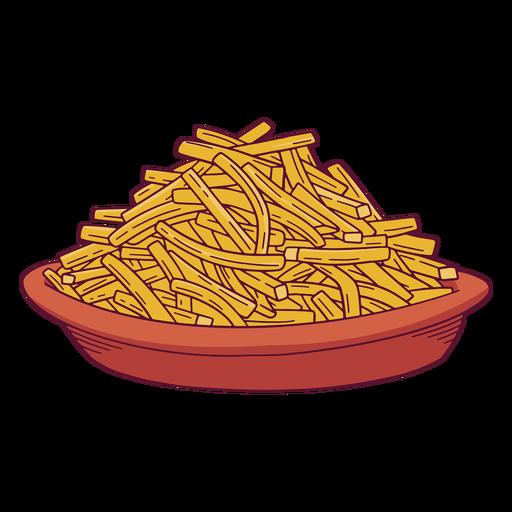batatas fritas - 1