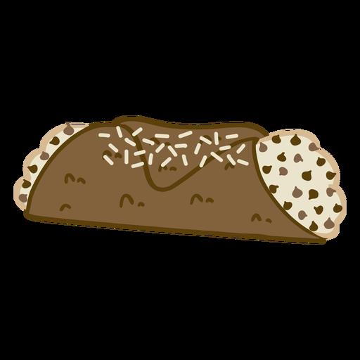 Chocolate chip sweet dessert