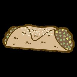 Mint sweet dessert