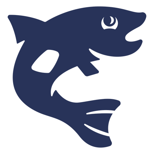 Bass Trout Fish Silhouette