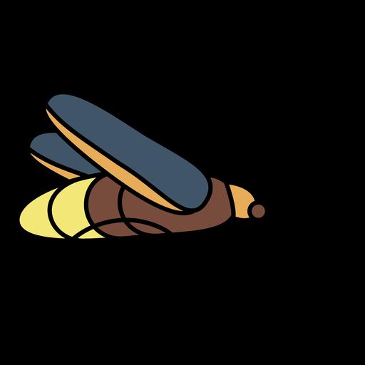 Stroke simple firefly