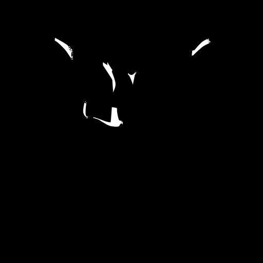 Business men meeting silhouette