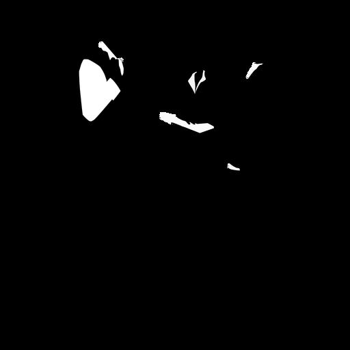 Business people posing silhouette