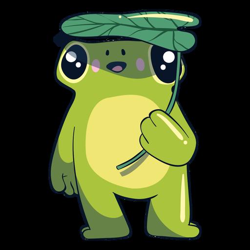 Ilustración de rana feliz Transparent PNG