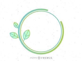 Conceito de planta verde