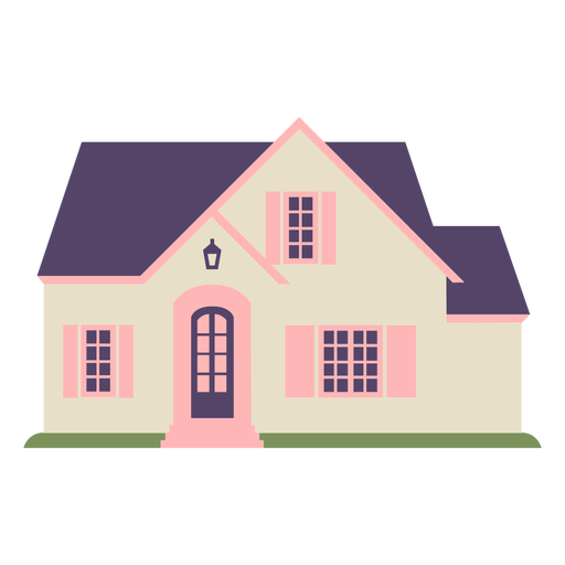 Traditional small house icon