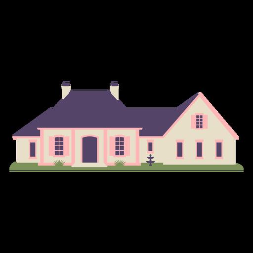 Classic traditional flat big house