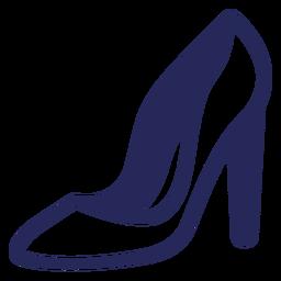 High heel shoe elegant