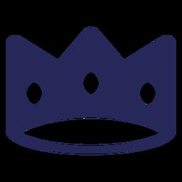 Crown royalty filled-stroke