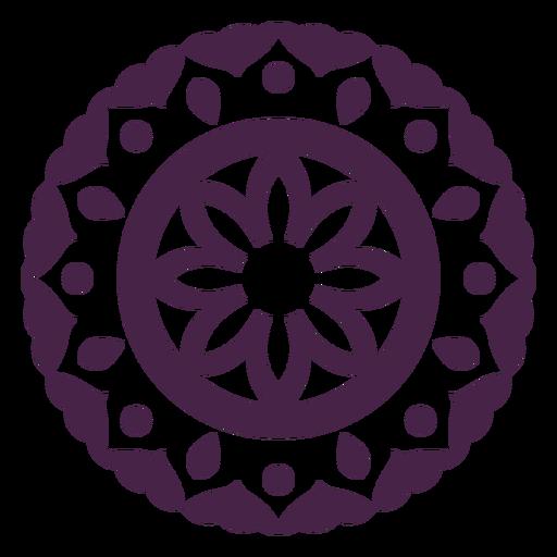 Mandala flowers design