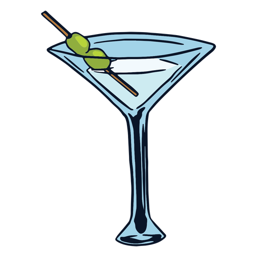 Drink cocktail martini