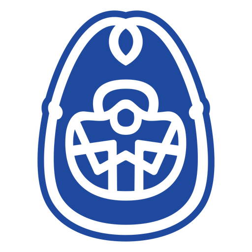 Animales celtas azul - 2
