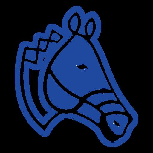 Horse head celtic knot