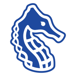 Seahorse celtic knot cut-out