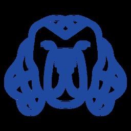 Dog pet celtic knot