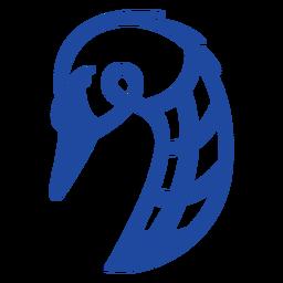 Animales celtas trazo azul - 16