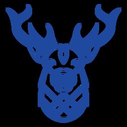 Celtic knot reindeer