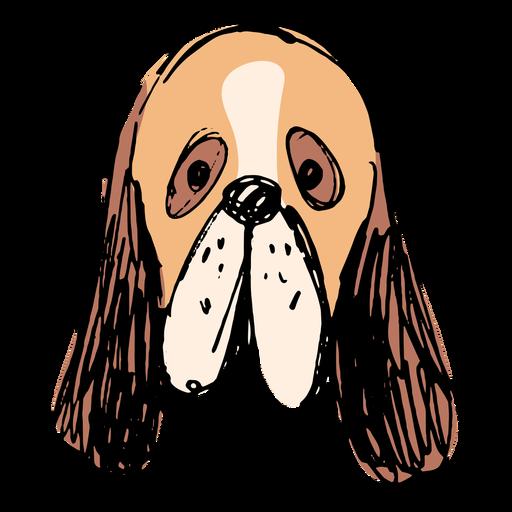 Dibujado a mano perro basset hound Transparent PNG