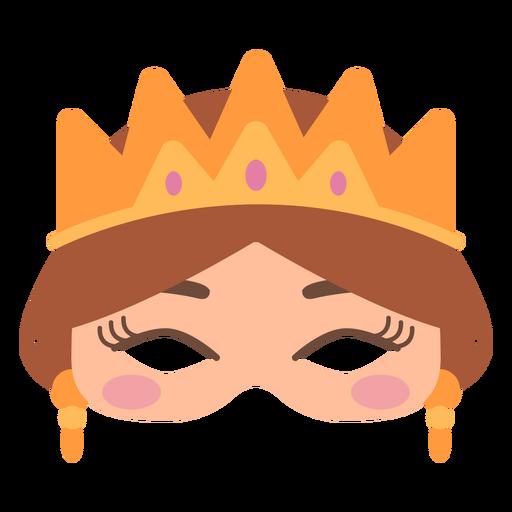 Queen crown mask