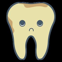Carácter de infección dental