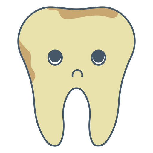 Tooth infection character Transparent PNG