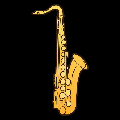 Saxophone soprano semi flat