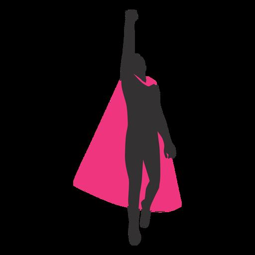 silueta de superhéroe - 15