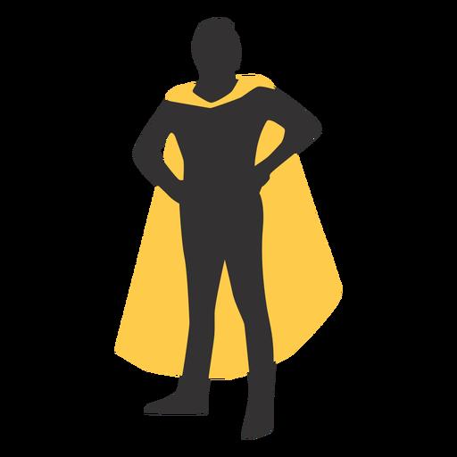 silueta de superhéroe - 25